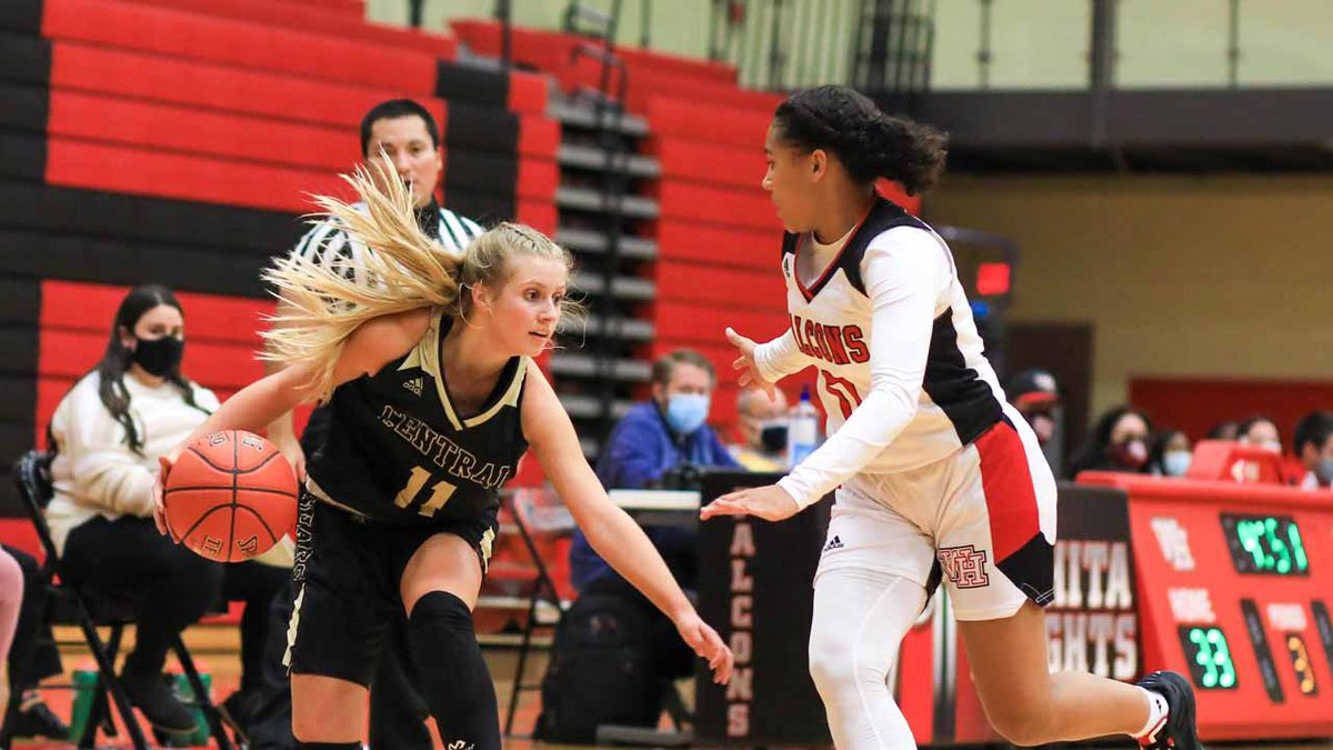 Game between Wichita Heights and Andover Central at Wichita Heights on Friday, Dec. 11, 2020.