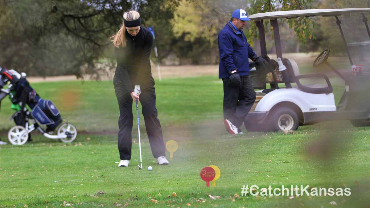 5A State Golf Tournament held at Salina Municipal Golf Course on Monday, October 19, 2020
