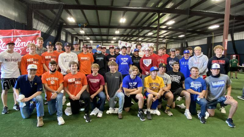 316 Elite/Wichita Sluggers held a signing day event for 40 area baseball players Saturday,...