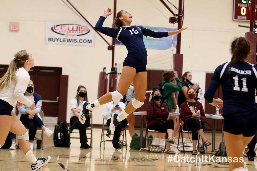 TMP defeated Hays High in the Championship Match of the 2020 Maroon and Gold Tournament at Hays...