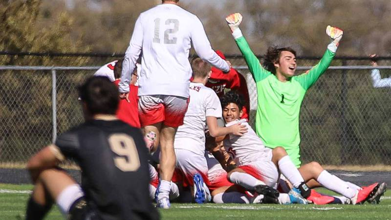 5A regionals game between Maize and Maize South at Maize South on Saturday, October 31, 2020....