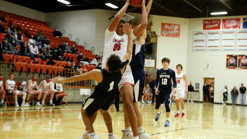 Hoxie defeated TMP-Marian 69-58 in an MCL Tournament semifinal game in Ellis, Friday, January...
