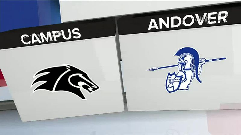 Andover softball doubles up Campus, 8-4