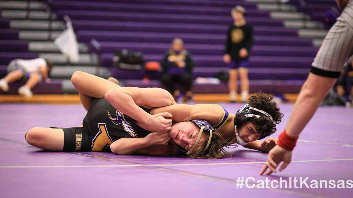 Valley Center hosted Goddard and Ark City in a double dual Thursday, January 29th
