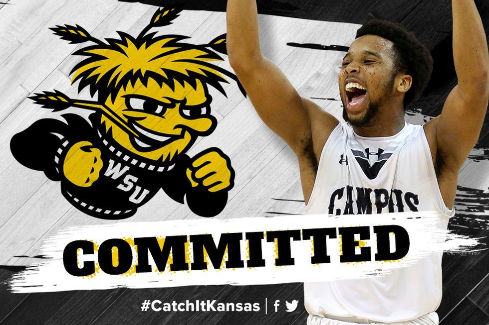 Sterling Gaston-Chapman commits to Wichita State