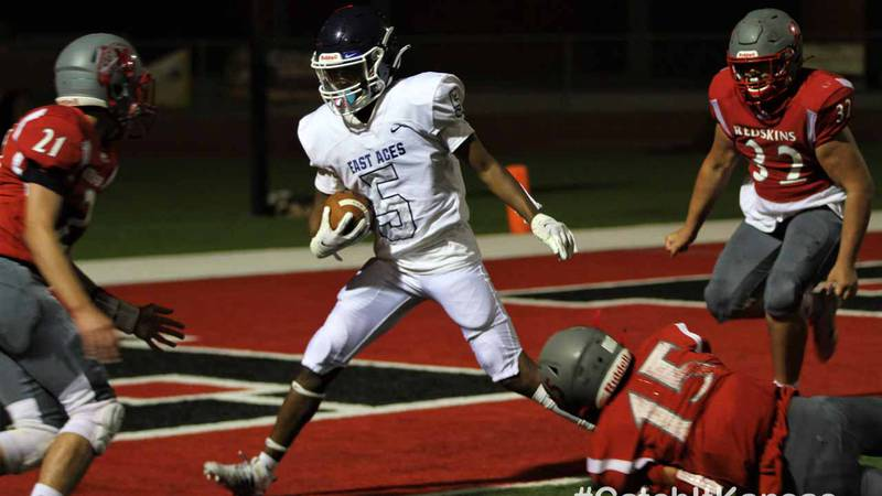 Wichita East scored a record 80 points in a shutout win over North Monday, September 14, 2020