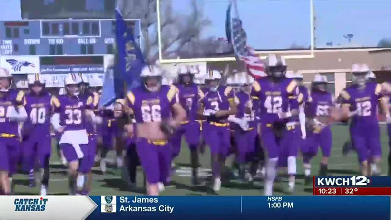 Ark City football runs out for 4A title game