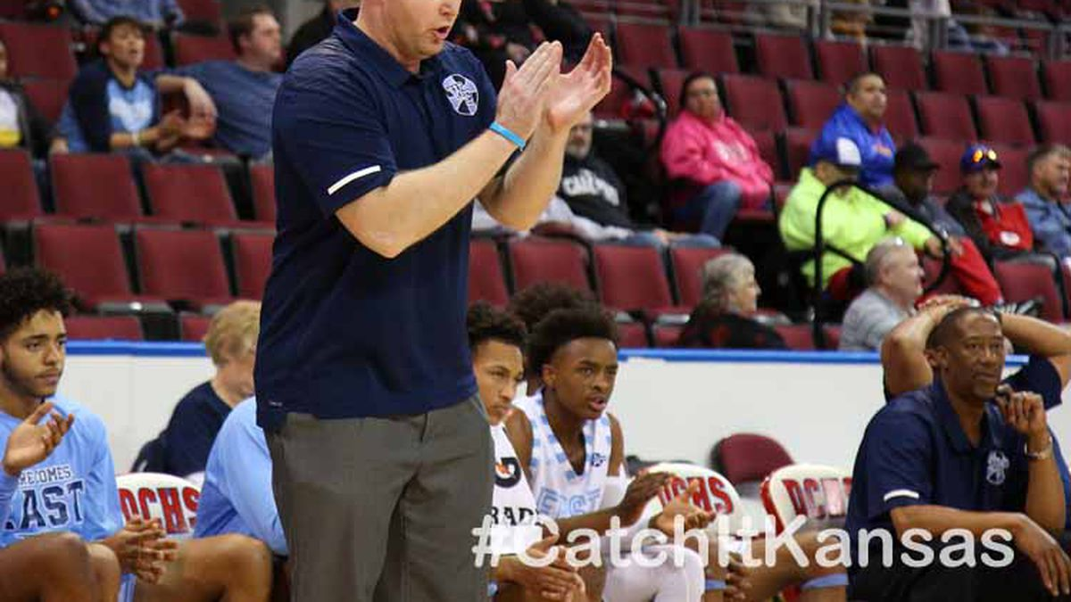 Wichita East defeated Wichita Heights 52-40 in the 5th place game at the 77th Annual Tournament Of Champions in Dodge City on Saturday, January 25, 2020.  (Photo: Everett Royer, www.ksportsimages.com)