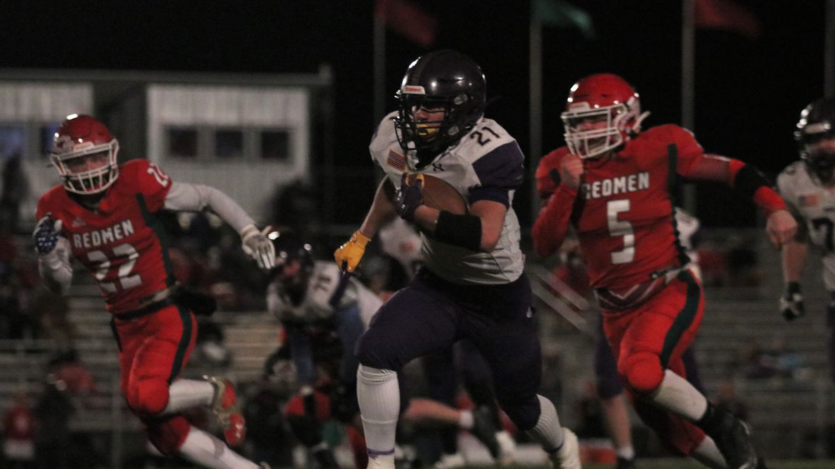 Oakley shut out Smith Center 20-0 to advance to the Class 1A Sub-State round on Friday,...
