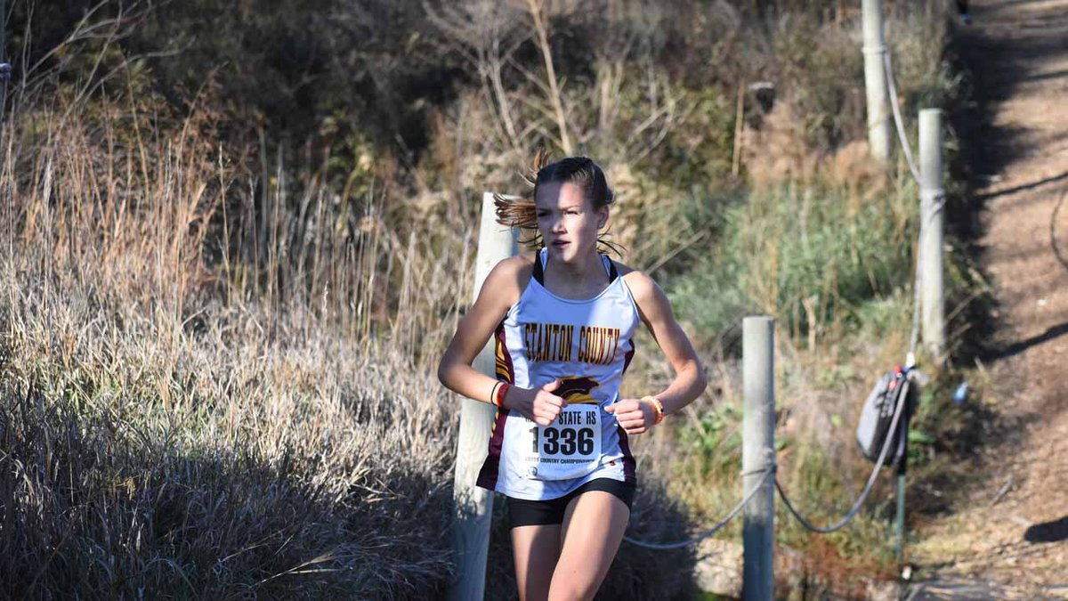 The Stanton County girls and Berean Academy boys won team 2A Cross Country championships...