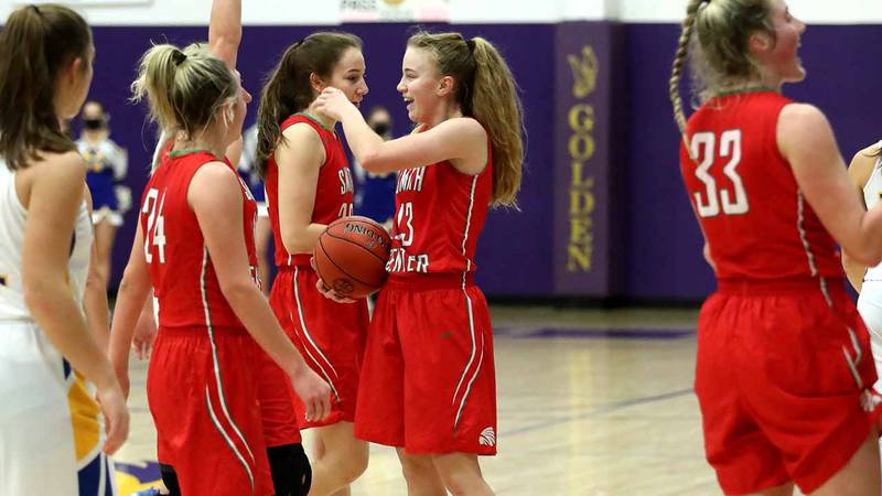 Smith Center defeated Norton in the MCL Tournament Championship Game 64-47 in WaKeeney on...