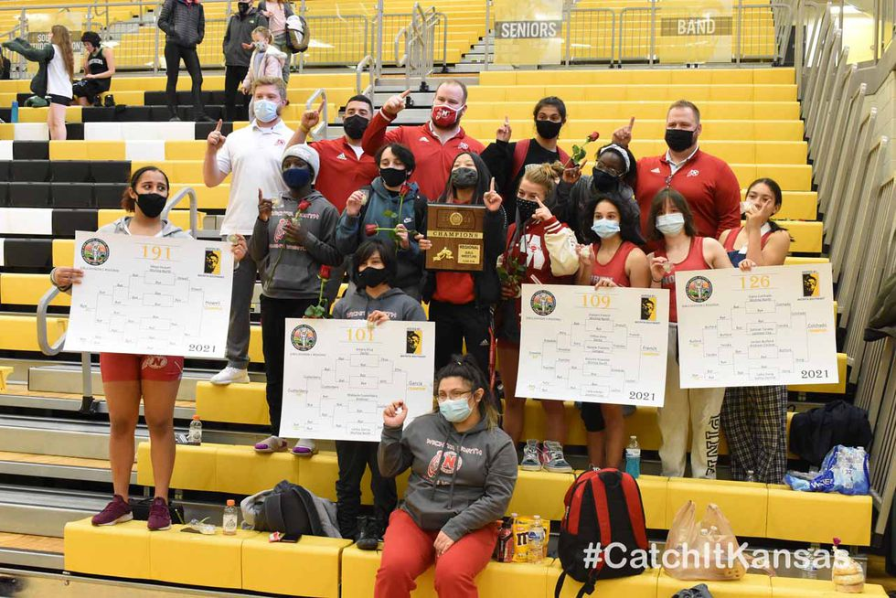 Wichita North won the Girls Division I Wrestling Regional Saturday held at Wichita Southeast