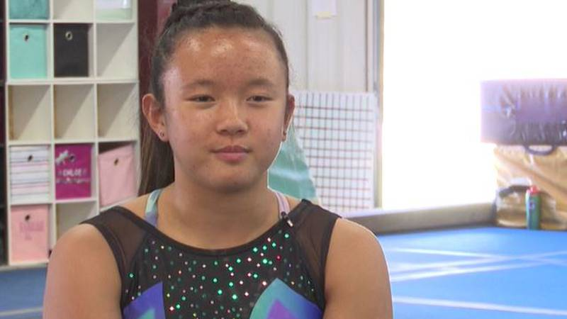 Augusta High School sophomore Keira Wells has become one of the best gymnasts in the country.