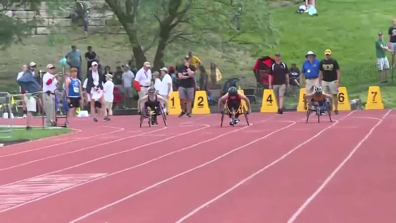 state wheelchair race