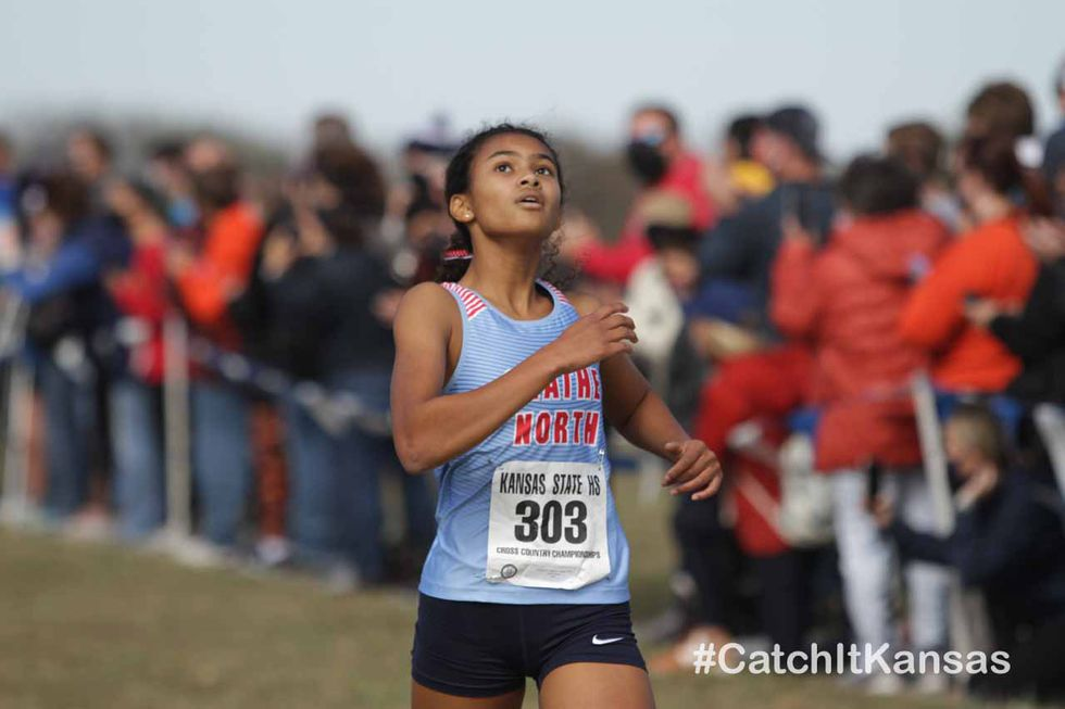 The Lawrence-Free State boys and Olathe West girls took home team titles at 6A State Cross...