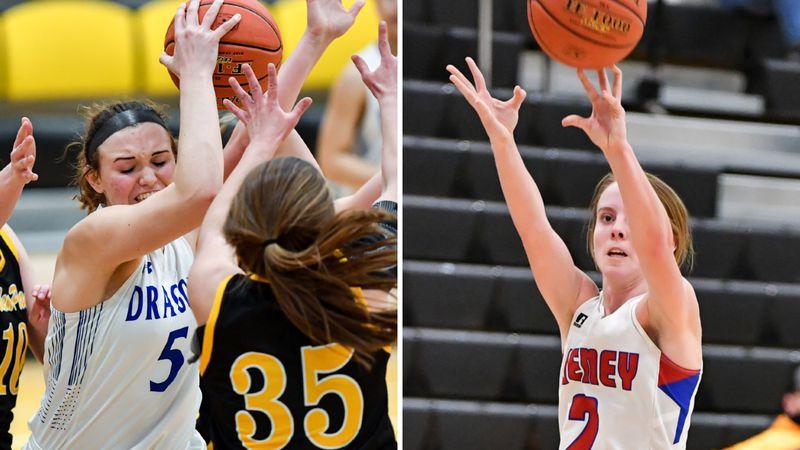 Halstead's Karenna Gerber and Cheney's Kylee Scheer will lead their teams into an unbeaten...