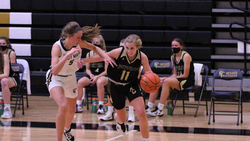 Second ranked Andover Central ran away from Maize South Tuesday for a 64-30 win