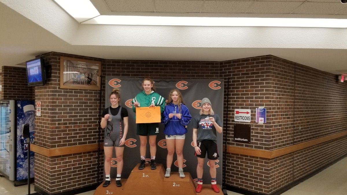 Mulvane sophomore Kammie Schanz battled through adversity to continue her unbeaten year with a...