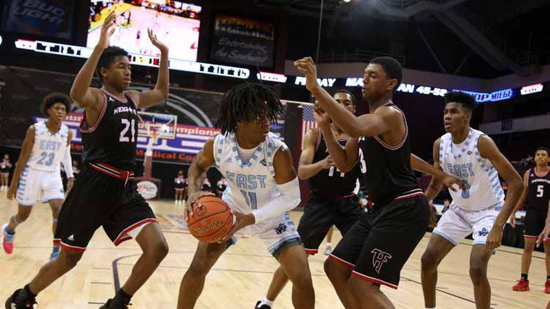 Wichita East defeated Wichita Heights 52-40 in the 5th place game at the 77th Annual...