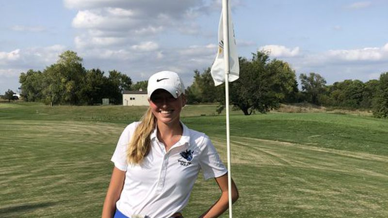 Standout Winfield golfer Elly Bertholf grew up on the golf course.