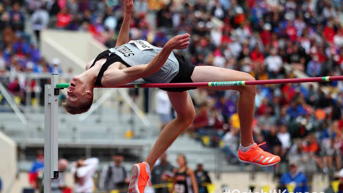 1A & 2A Track & Field State Championships at Cessna Stadium in Wichita on Saturday, May 29,...