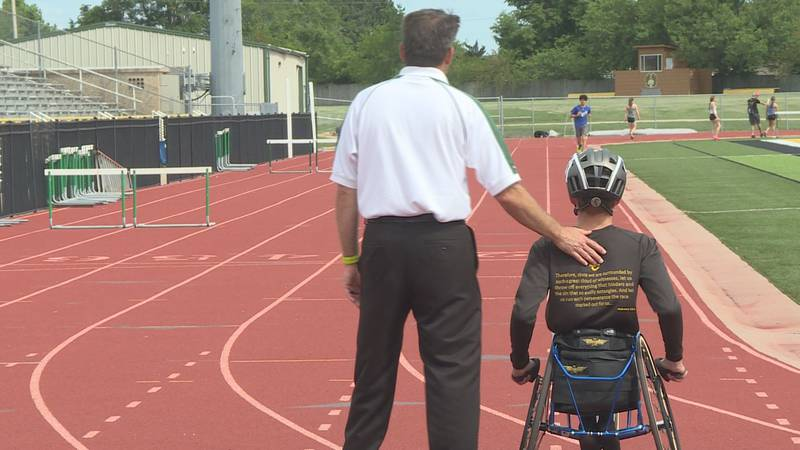 Wheelchair athletes to compete in KSHSAA State Track meet for the first time.