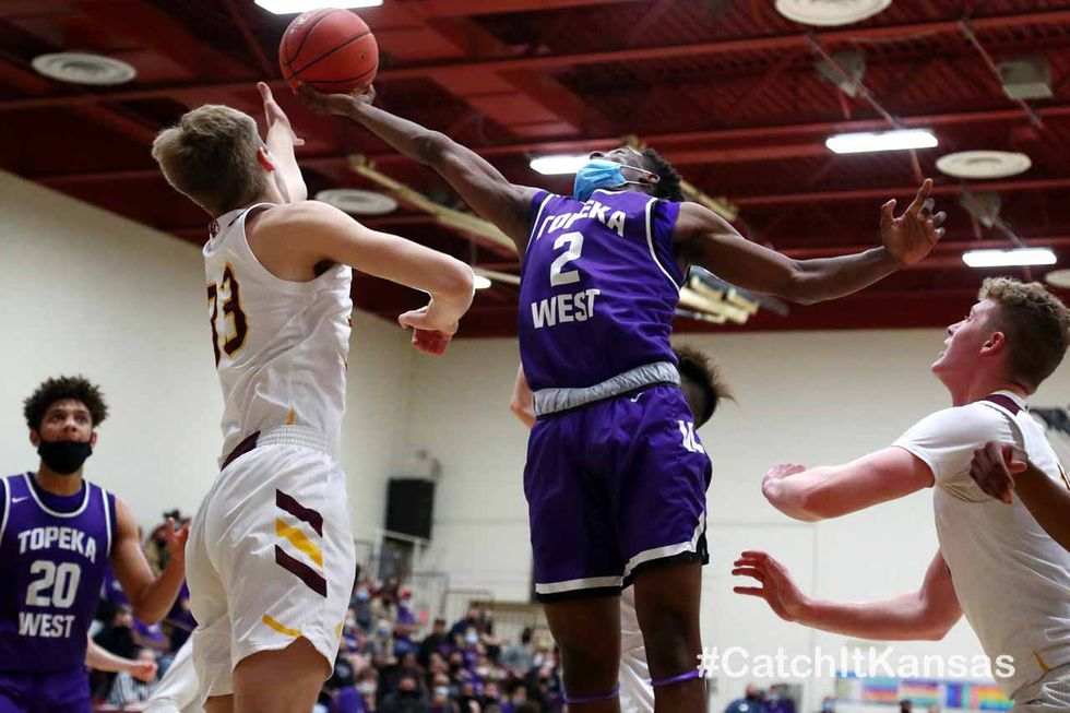 Topeka West edged out Hays High to end their perfect season in the state quarterfinals on...