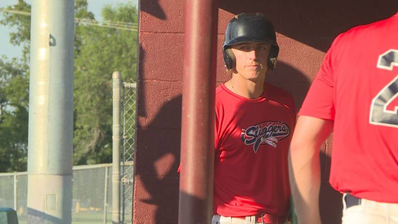 Trey Degarmo of Cowley Community College baseball.