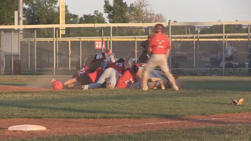 Sedgwick baseball wins first state title in school history.