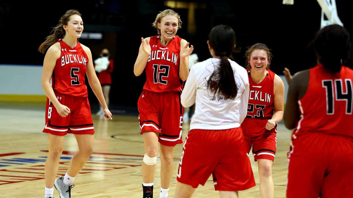 Bucklin defeated Hodgeman County 44-36 to win the SPIAA Championship Game at the United...