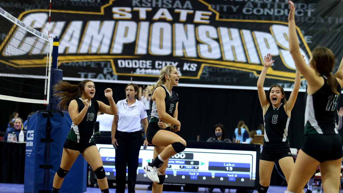 Central Plains defeated Lebo 26-24 25-23 to win the  Class 2A Volleyball Championship at United...