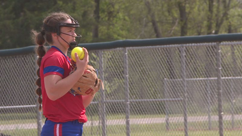 Rising Star Cheney softball's Korri Lies.
