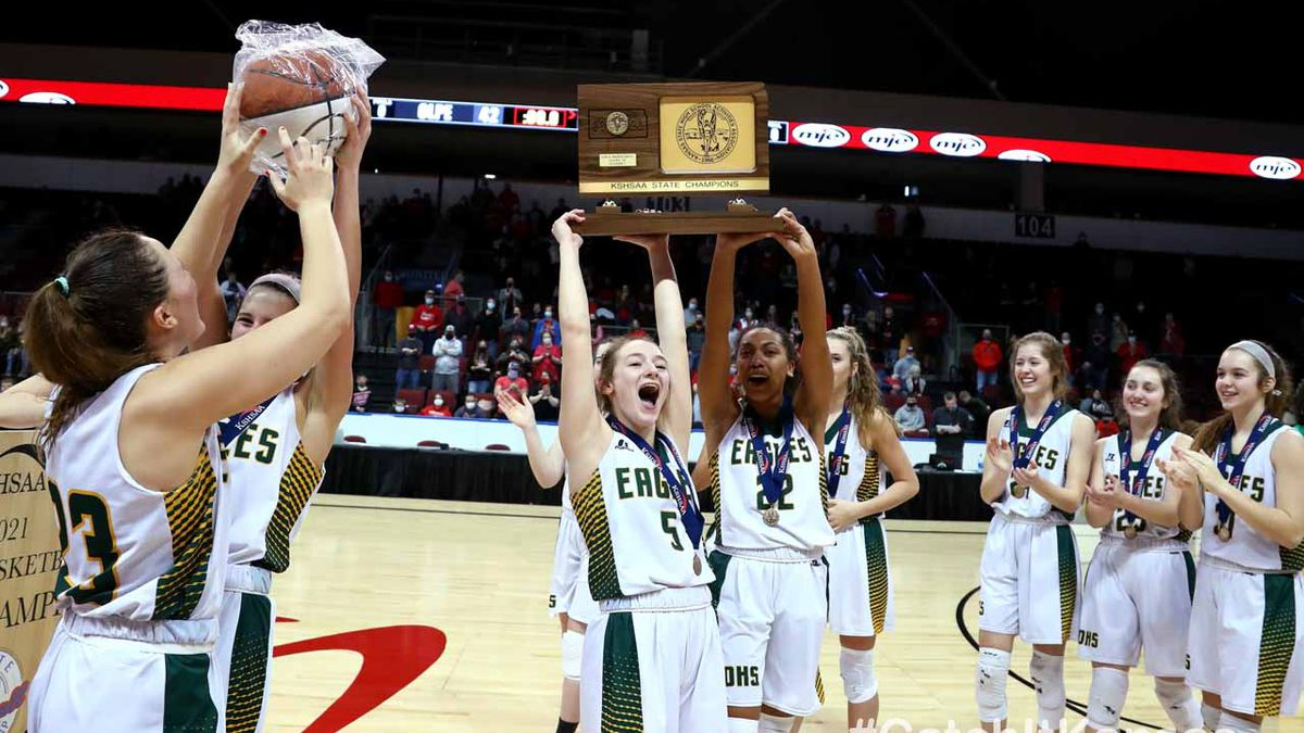 Olpe defeated Norwich 42-28 to win the 2021 1AD1 State Basketball Championship game at the...