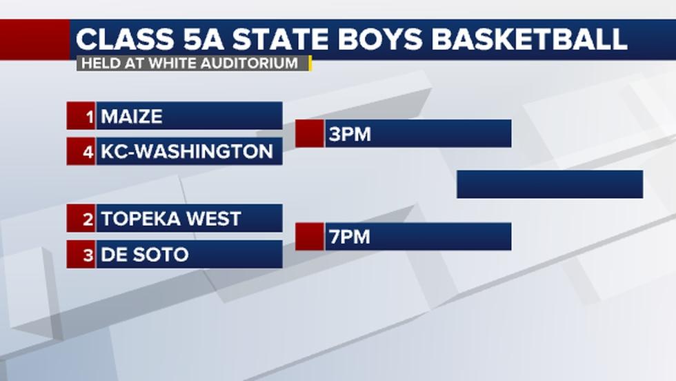 5A State Basketball