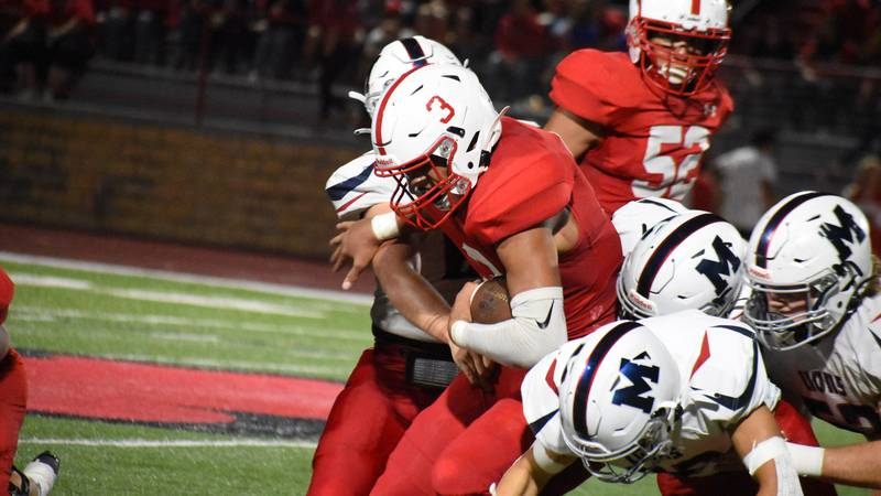 356: Hoisington senior Legend Robinson rushed for 295 yards and five touchdowns in the first...