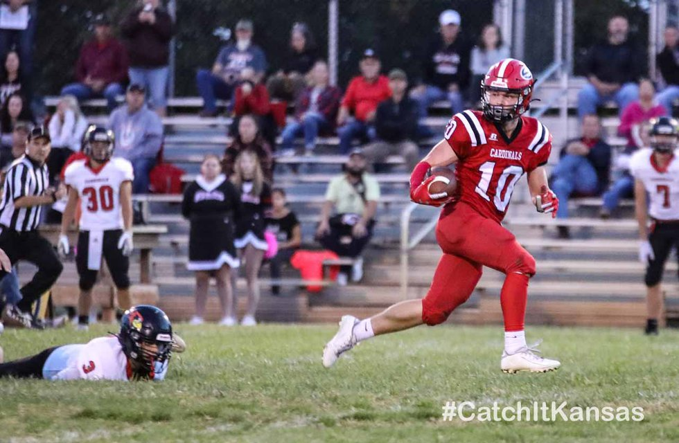 Game between Sedgwick and Ell-Saline at Sedgwick on Friday, Oct. 1, 2021.
