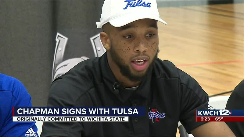 Sterling Chapman signs with Tulsa