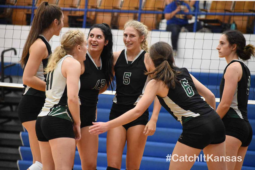 Reigning 1A Champion Central Plains won the Russell Volleyball Tournament Saturday, September...