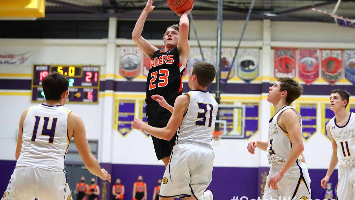 Ellis defeated Trego Community in Thursday's sub-state semifinal matchup in WaKeeney