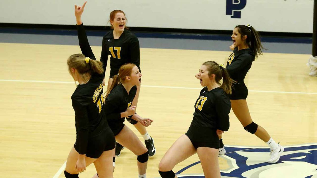Goodland defeated TMP in a 5 set quarterfinal match to advance to the Kansas Class 3A State...