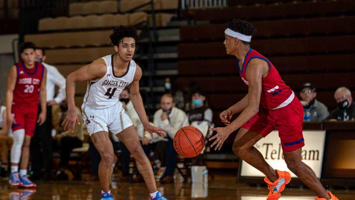 Garden City High School boy's basketball team hosted Dodge City High School on Tuesday February...
