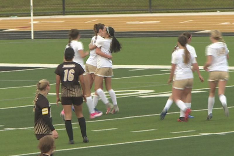 Maize South soccer edges out Andover Central.